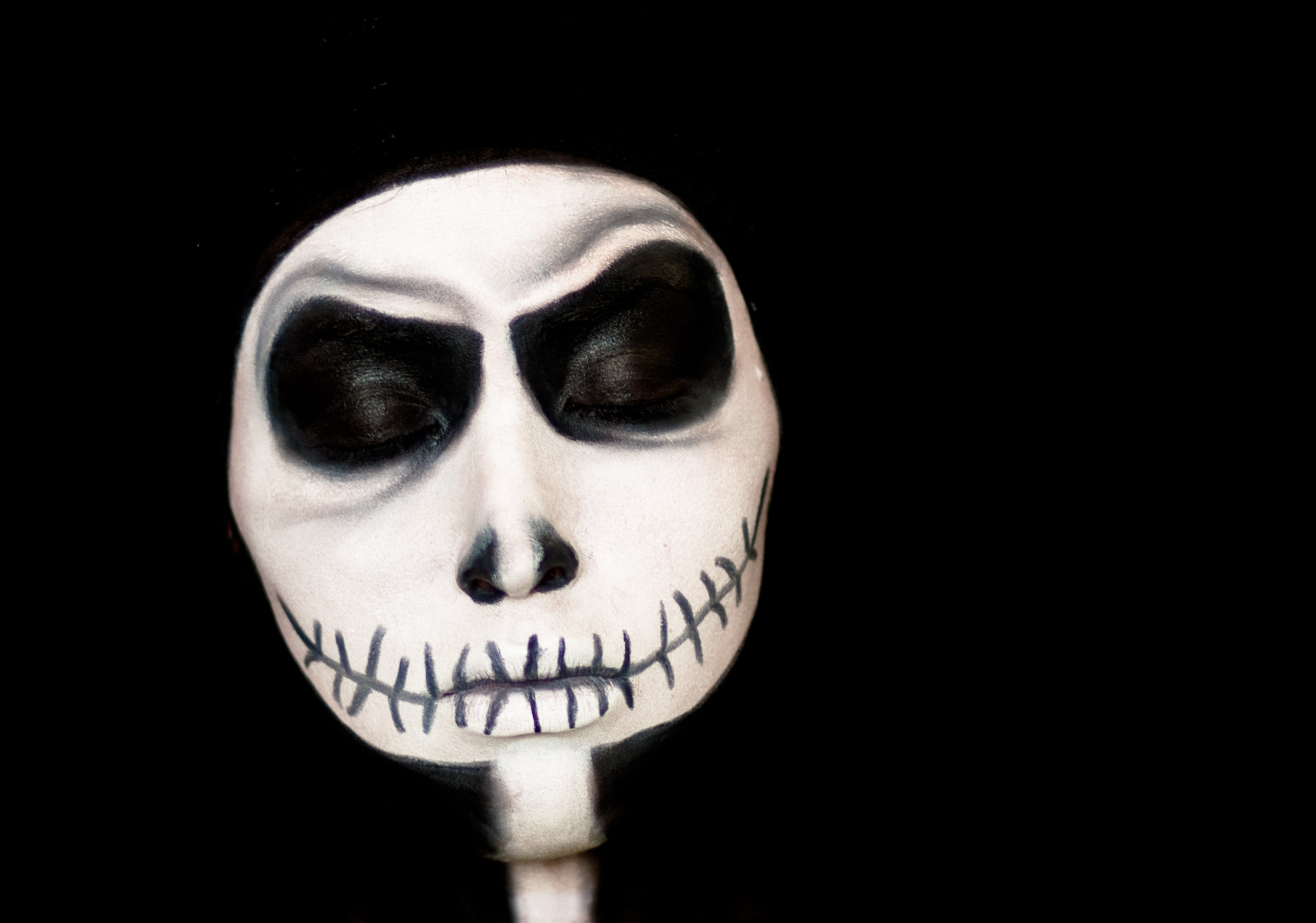 Image Gallery jack skeleton makeup
